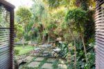 Smokey Charcoal Garden Area