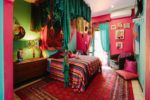 Frida Kahlo Bedroom and Bed