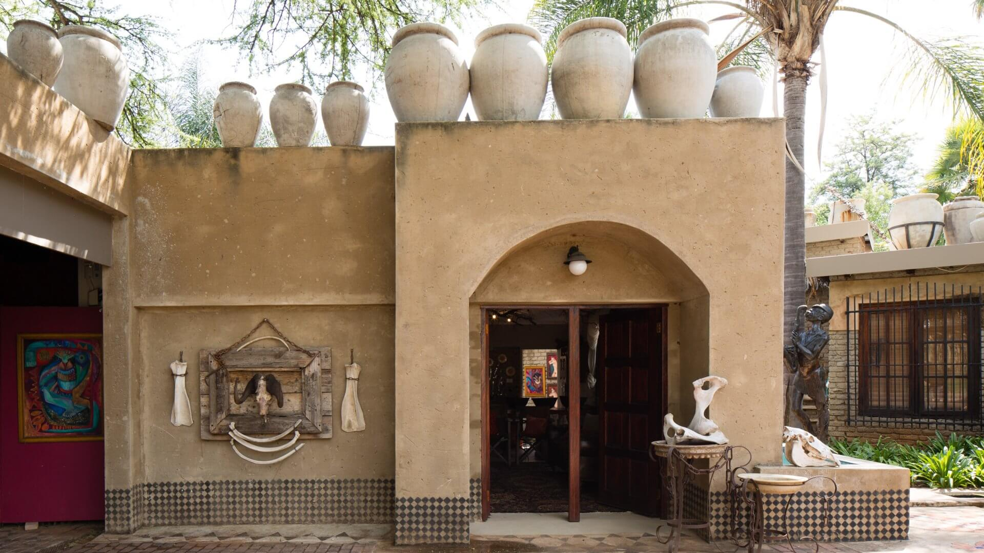 The Art Guesthouse Slider Front Entrance